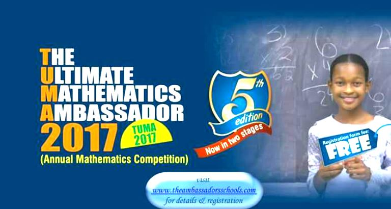 M.D School Wins Big at Ultimate Mathematics Ambassador 2017
